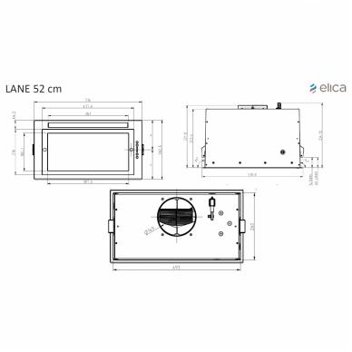 Elica LANE WH/A/52 3
