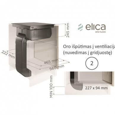 Elica NIKOLATESLA FIT BL/A/70 11