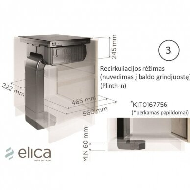 Elica NIKOLATESLA FIT BL/A/70 12