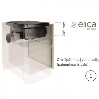Elica NIKOLATESLA FIT BL/A/70 10