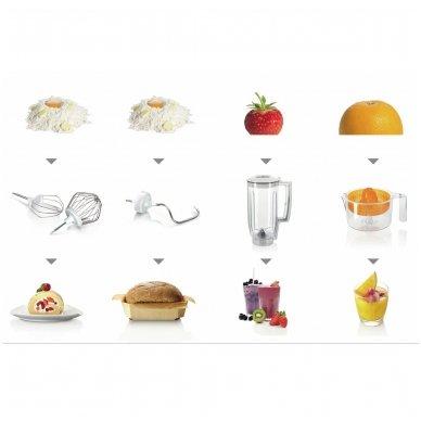 Virtuvės kombainas Bosch MUM50123 5